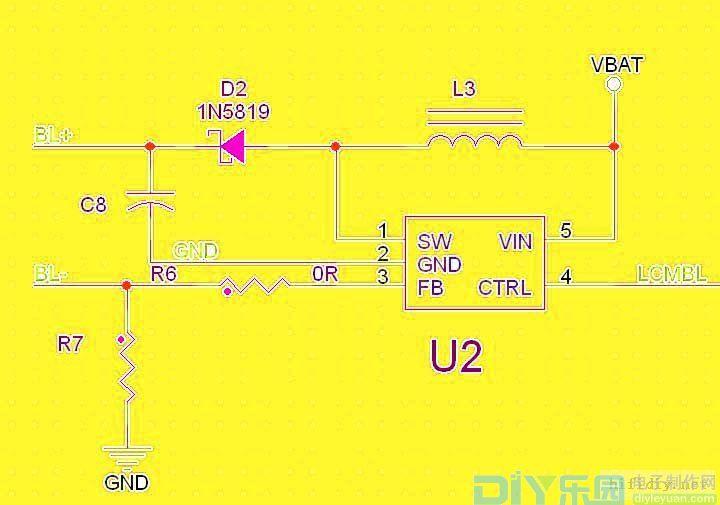 DC DC直流升直流电路的原理图片