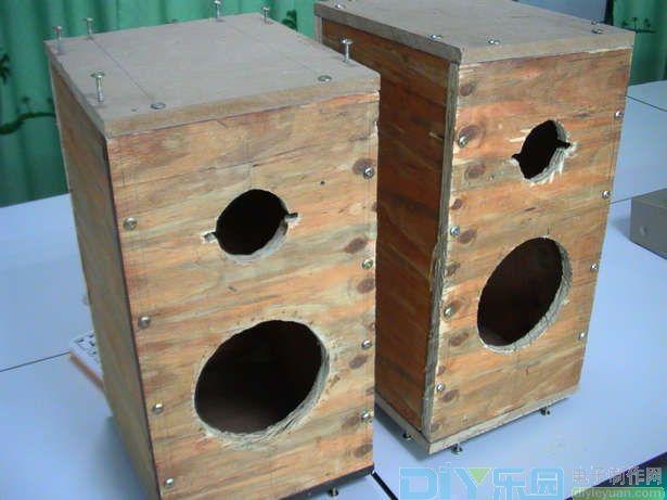 制作一个漂亮的实木音箱