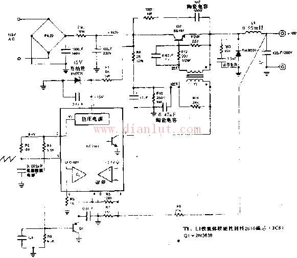 25a开关式变换器电路原理图图片