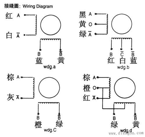 步进电机接线图 -解决方案-华强电子网