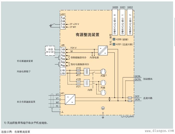 西门子变频器接线图 -解决方案-华强电子网