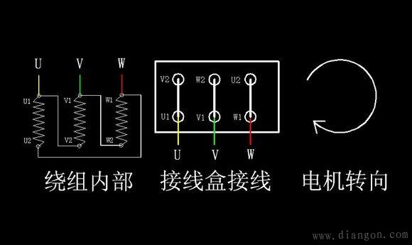 电机星角启动电路图_星三角启动原理图_星角启动实物接线图 -解决方案