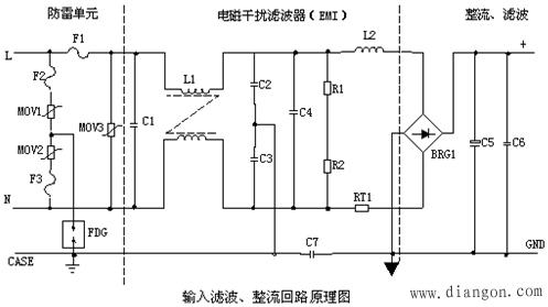 电源滤波器的作用_电源滤波器电路图原理 -解决方案