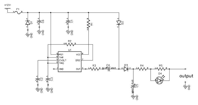 手机充电器电压转换器电路图