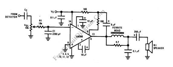 自制收音机的音频放大电路,要简单易做图片