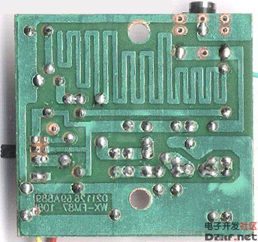 一款简单容易制作的调频发射机
