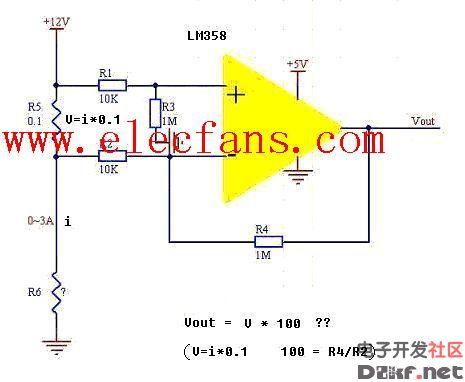电流检测电路--电路图-技术资料-华强电子网