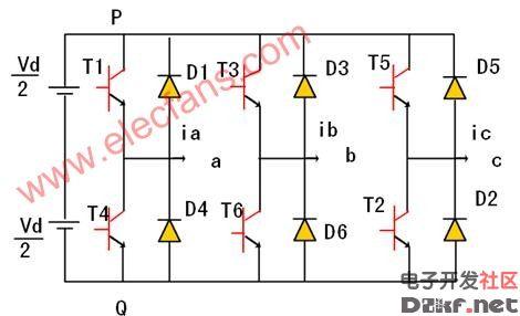 电压型三相桥式逆变电路图片