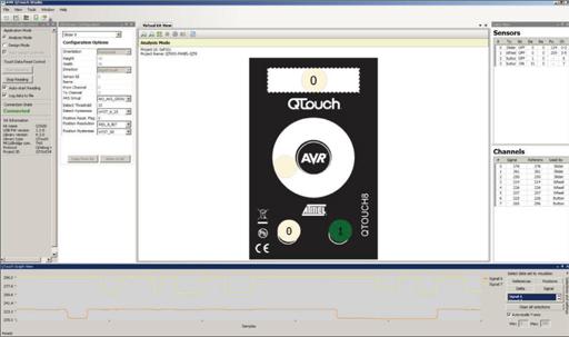 软件开发工具革新电容式触摸界面设计