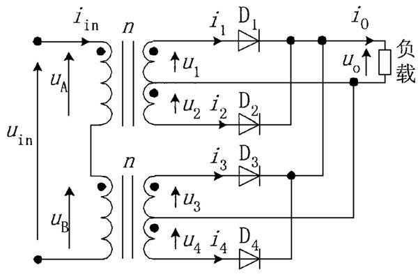 多个变压器的连接示意图