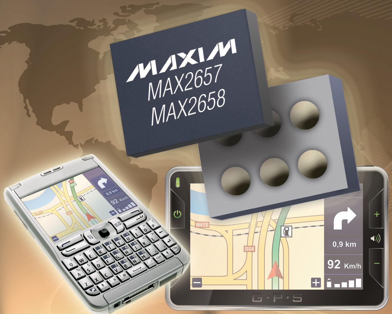 推出微型LNA低噪声放大器 MAX2657