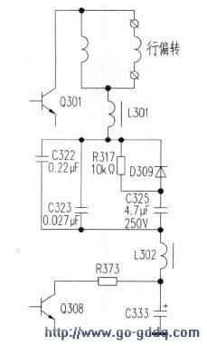 创维29t83ht(6t18机芯)数字高清彩电机内异常响声后