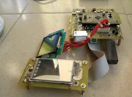 自制STM32开发板学习32位单片机图片