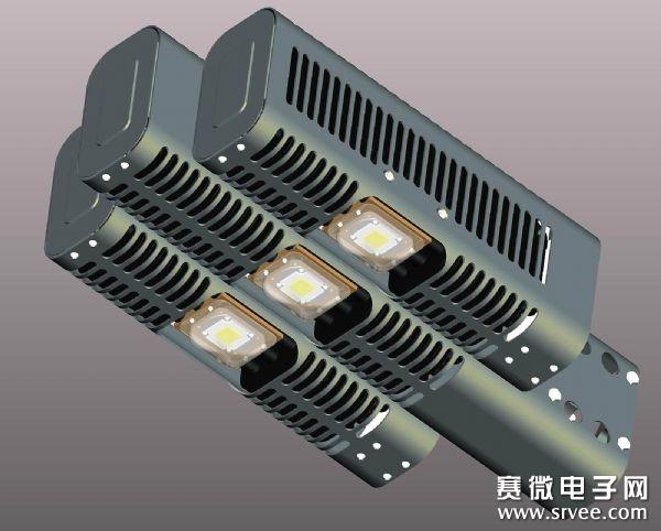 应用,为达到接近原有替代光源的要求,通常会采取以量取胜的设计方式,即在单位面积设计大量的发光,或是采取提升单一元件的发率进行设计,但如此一来,即造成面状或点状的元件温度亟需处理,而采取的散热手段可用主动或被动设计进行,尤其以主动式散热的设计更为复杂,如何达到最佳化散热设计去避免LED元件光衰影响寿命,是开发照明的重要关键.