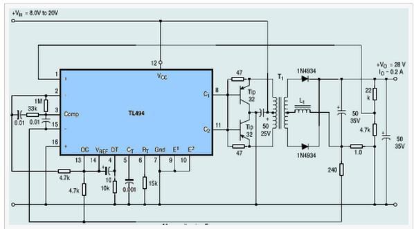 tl494应用电路图一图片